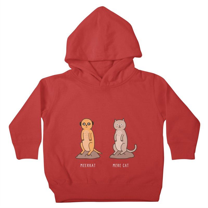 Meerkat Kids Toddler Pullover Hoody by jacohaasbroek's Artist Shop