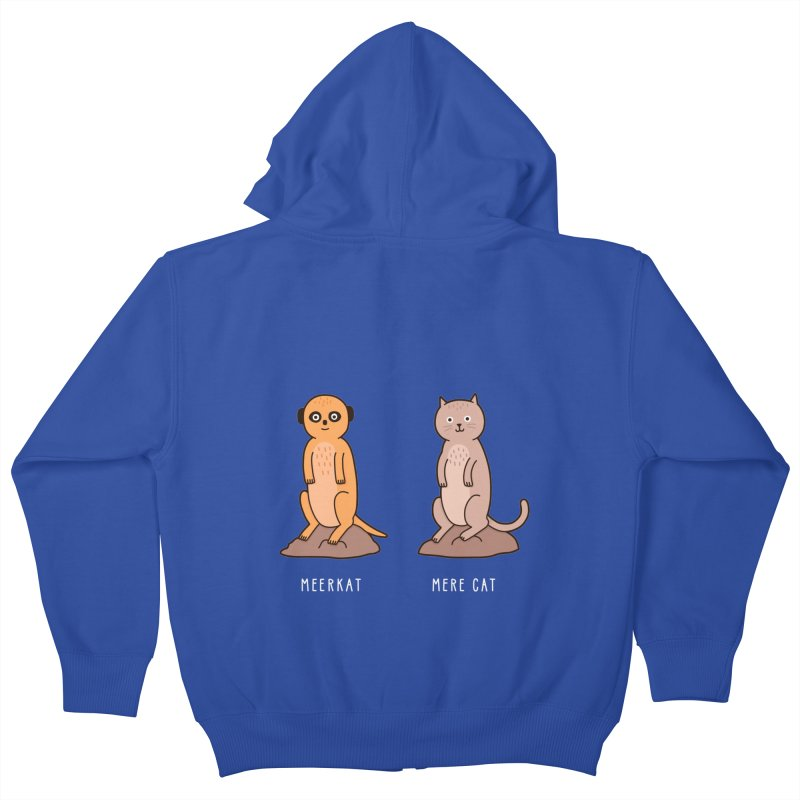 Meerkat Kids Zip-Up Hoody by jacohaasbroek's Artist Shop