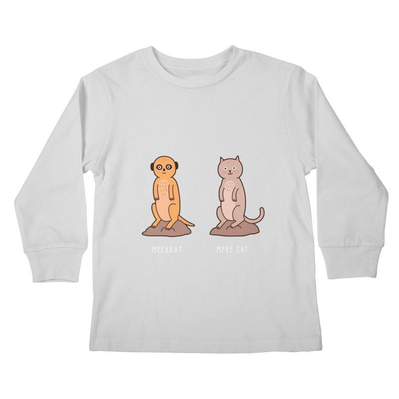 Meerkat Kids Longsleeve T-Shirt by Haasbroek's Artist Shop