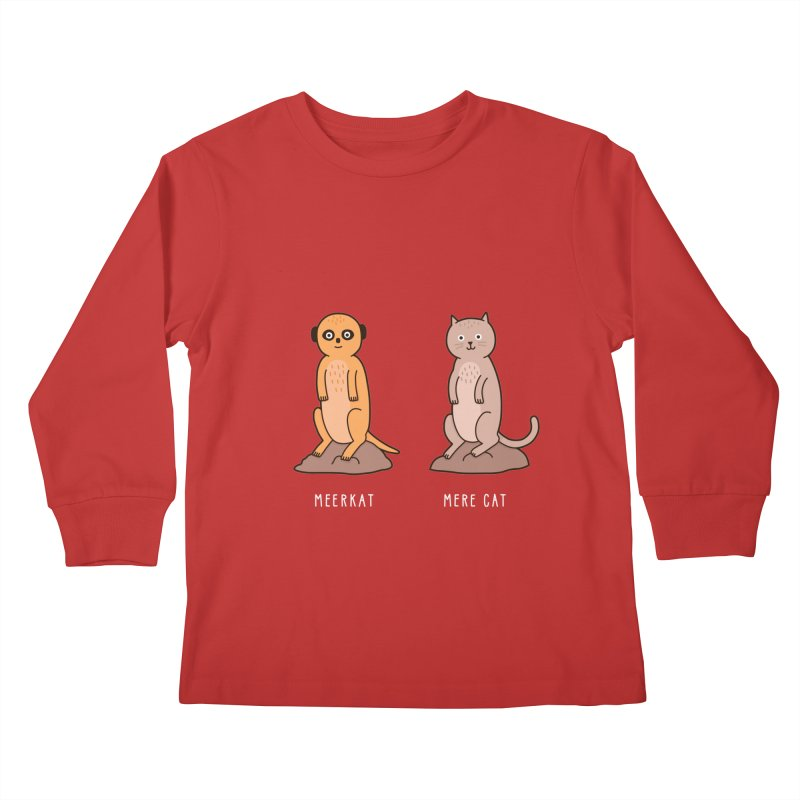 Meerkat Kids Longsleeve T-Shirt by jacohaasbroek's Artist Shop
