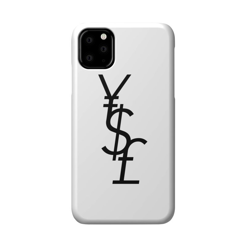Yen Dollar Pound Accessories Phone Case by Haasbroek's Artist Shop