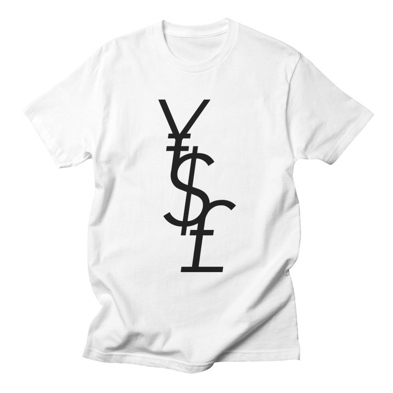 Yen Dollar Pound Women's T-Shirt by Haasbroek's Artist Shop