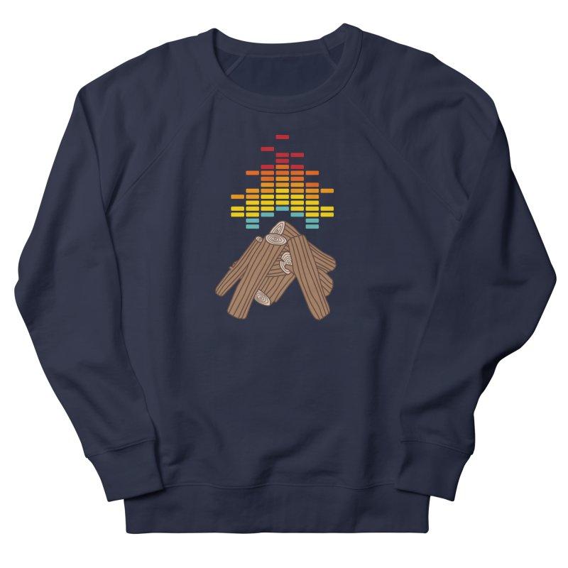 Crackling Fire Women's Sweatshirt by jacohaasbroek's Artist Shop