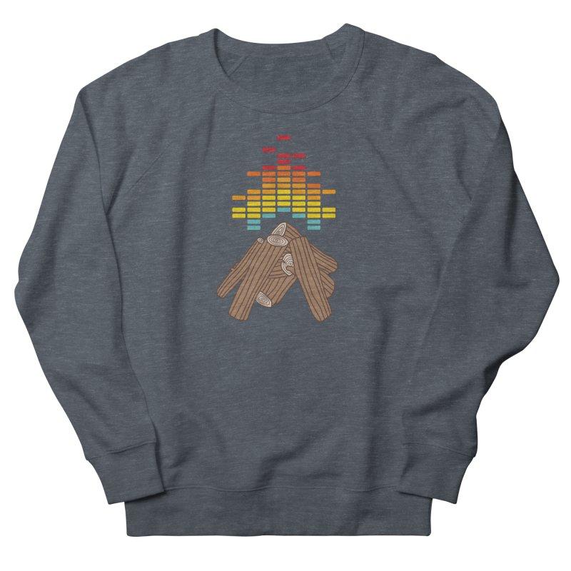 Crackling Fire Men's Sweatshirt by jacohaasbroek's Artist Shop