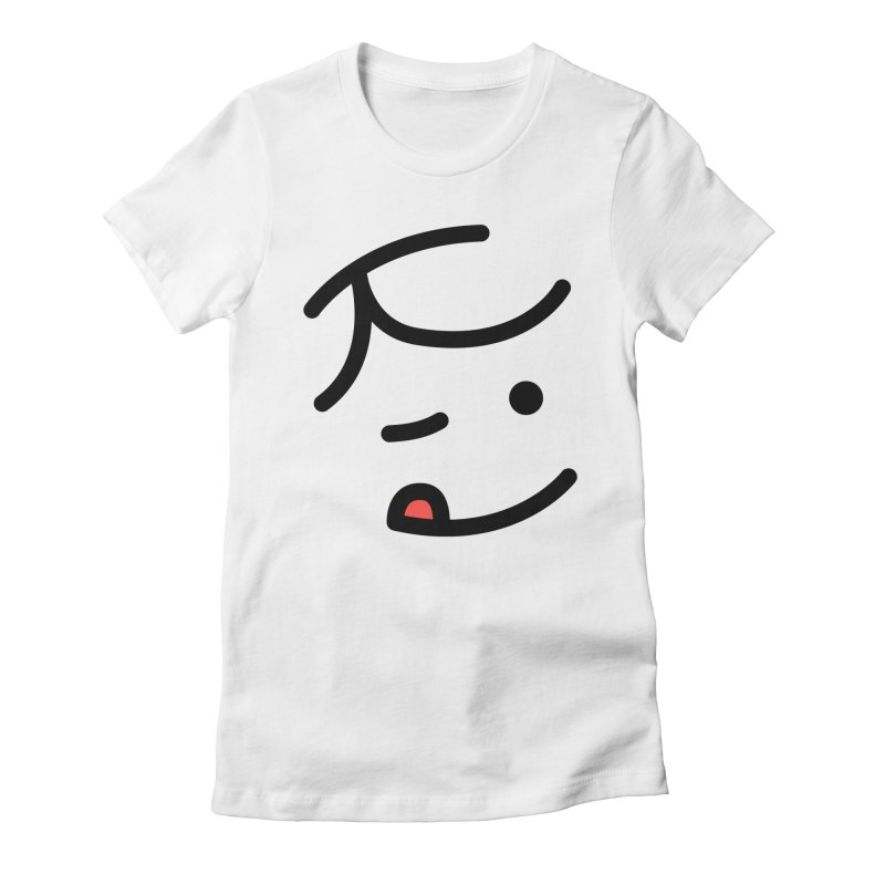 Kid Women's Fitted T-Shirt by jacohaasbroek's Artist Shop