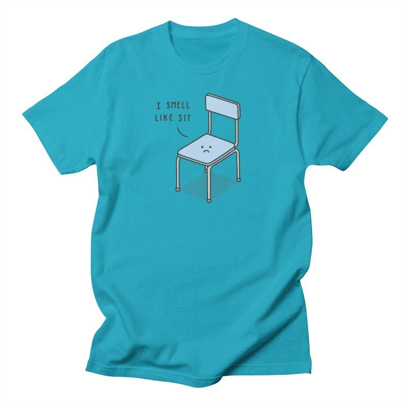 Sit Men's T-shirt by jacohaasbroek's Artist Shop