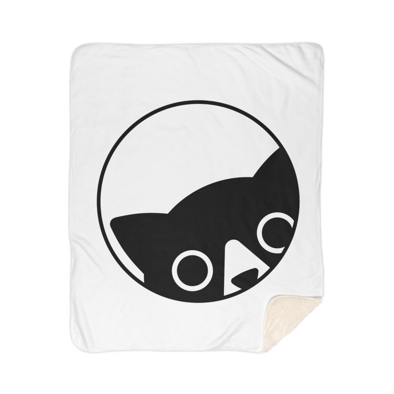 I see you Home Sherpa Blanket Blanket by Jacopo Rosati