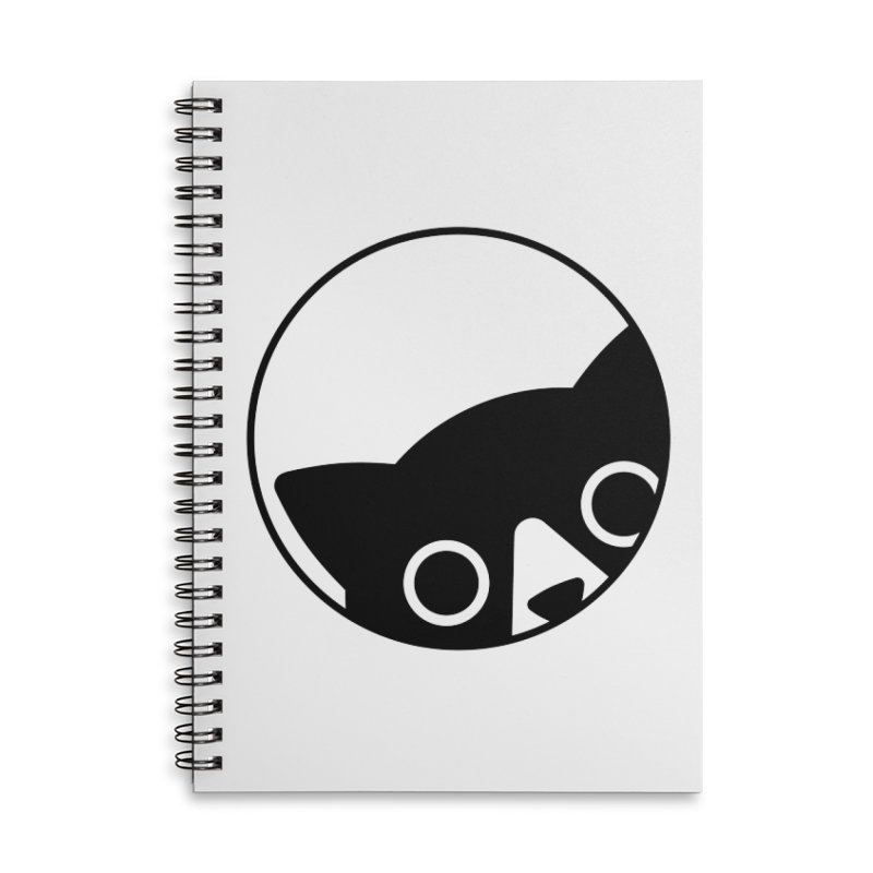 I see you Accessories Lined Spiral Notebook by Jacopo Rosati