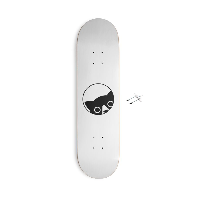 I see you Accessories With Hanging Hardware Skateboard by Jacopo Rosati
