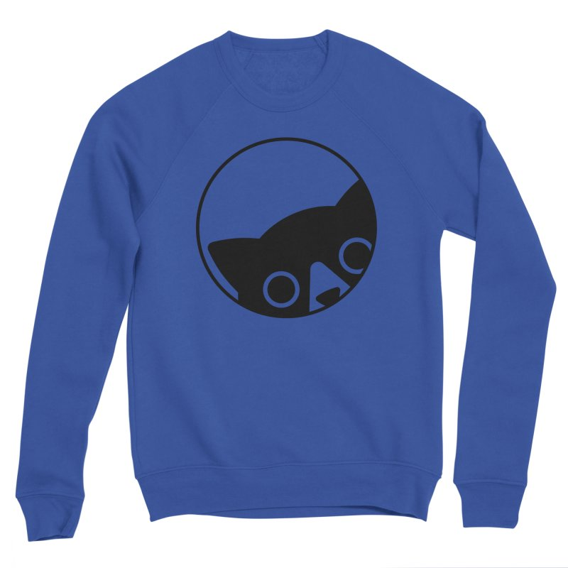 I see you Men's Sponge Fleece Sweatshirt by Jacopo Rosati