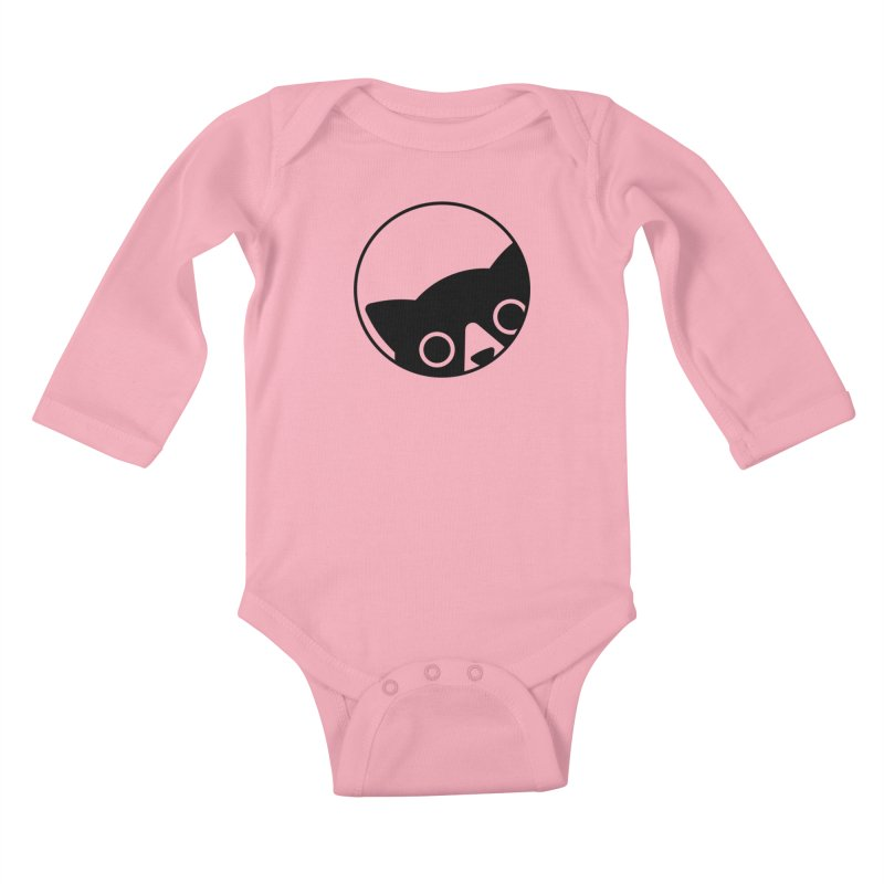 I see you Kids Baby Longsleeve Bodysuit by Jacopo Rosati