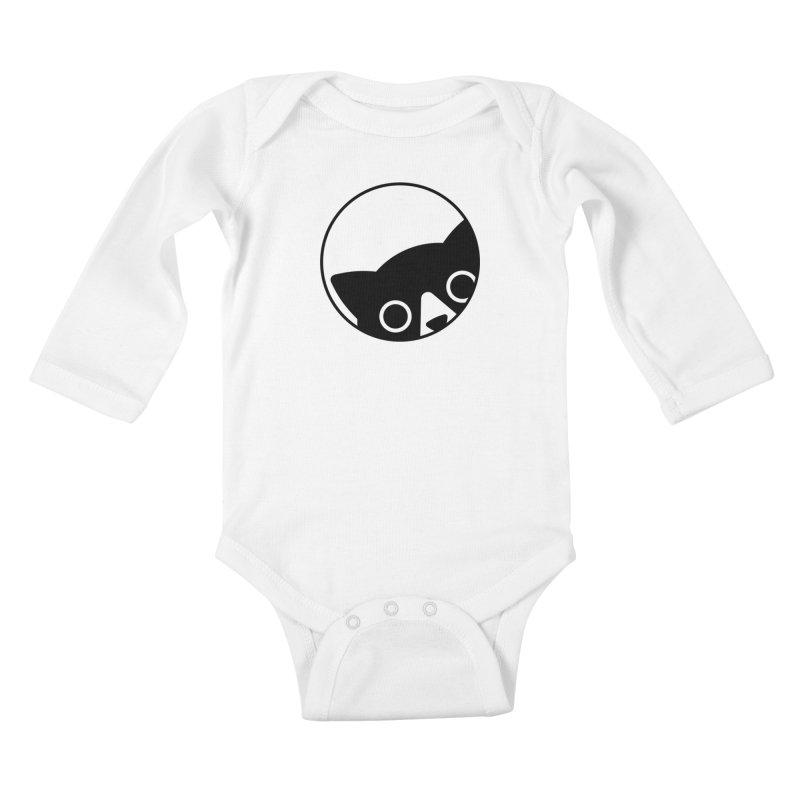 I see you Kids Baby Longsleeve Bodysuit by Jacopo Rosati
