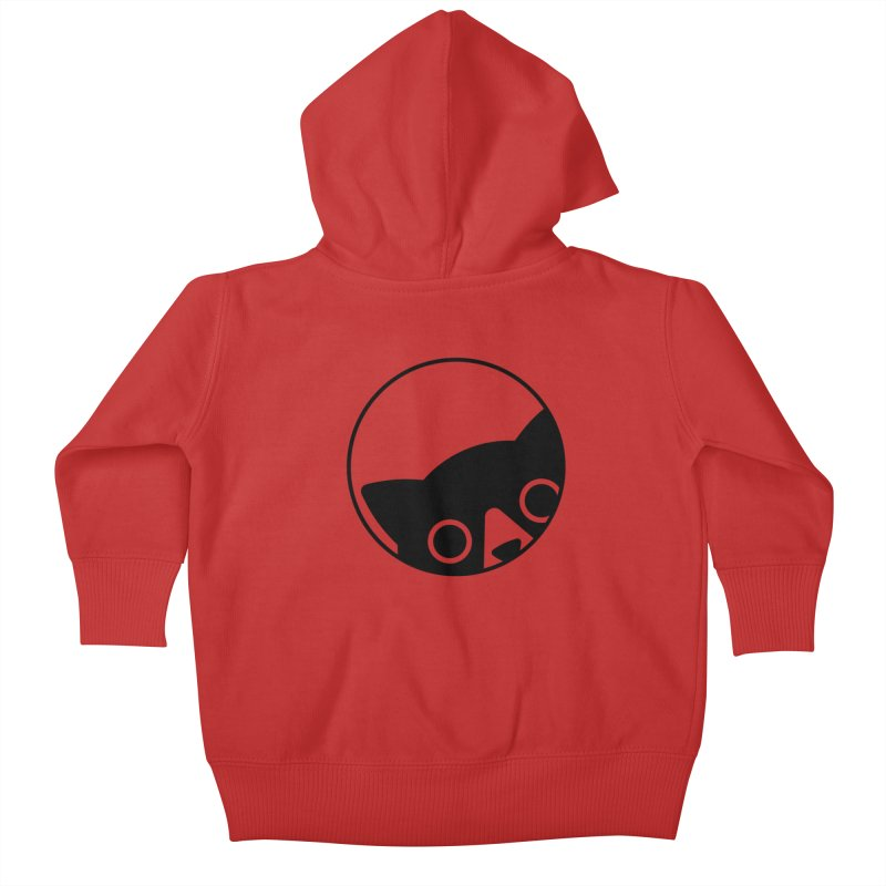 I see you Kids Baby Zip-Up Hoody by Jacopo Rosati