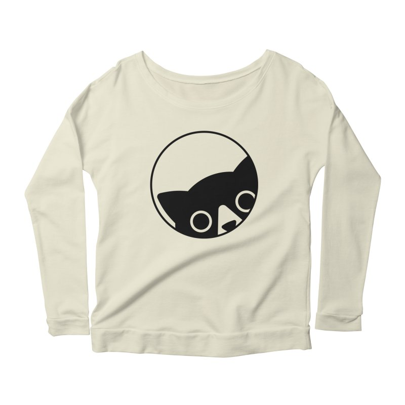 I see you Women's Scoop Neck Longsleeve T-Shirt by Jacopo Rosati