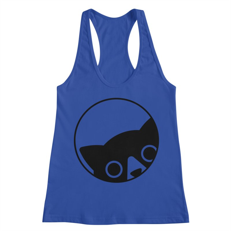 I see you Women's Racerback Tank by Jacopo Rosati
