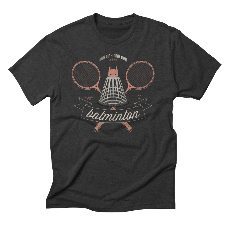 Batminton Men's Triblend T-shirt by Jacques Maes