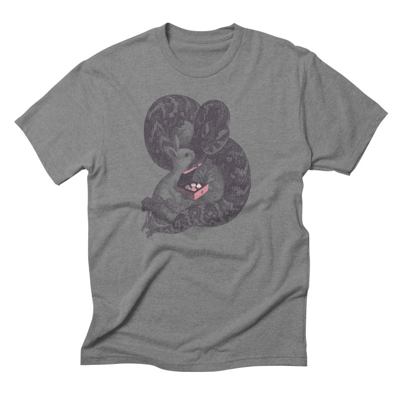 Cupcake? Men's Triblend T-shirt by Jacques Maes