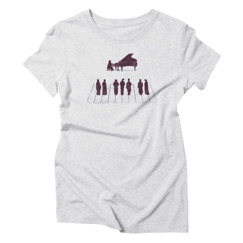 A Great Composition Women's Triblend T-Shirt by Jacques Maes