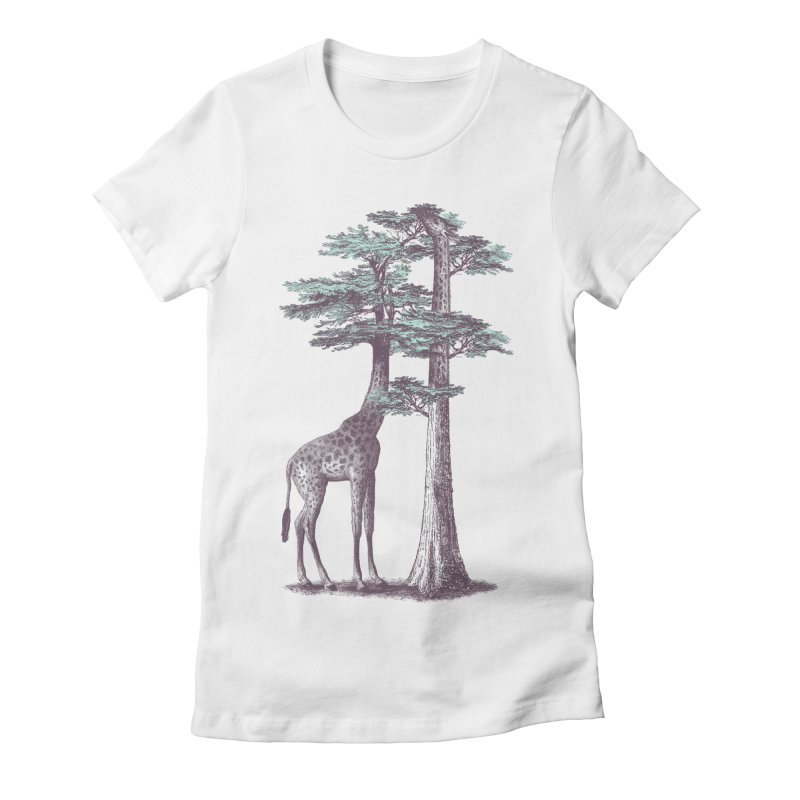 Fata Morgana Women's Fitted T-Shirt by Jacques Maes