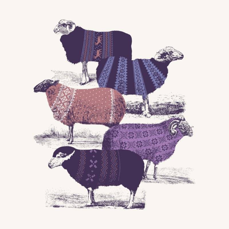 Cool Sweaters None  by Jacques Maes