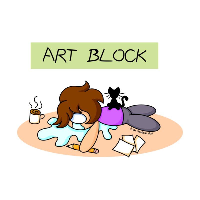 Art Block Men's T-Shirt by jadedamboiserail's Artist Shop