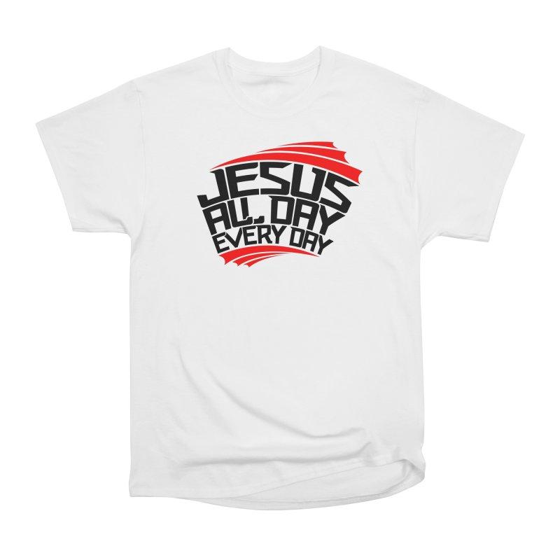 J.A.D.E.D. T-Shirt / Red & Black Logo Women's T-Shirt by JADED ETERNAL