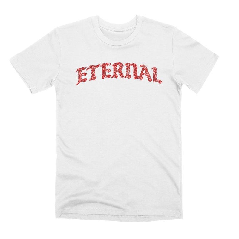 Eternal T-Shirt / Crimson Logo Men's T-Shirt by JADED ETERNAL