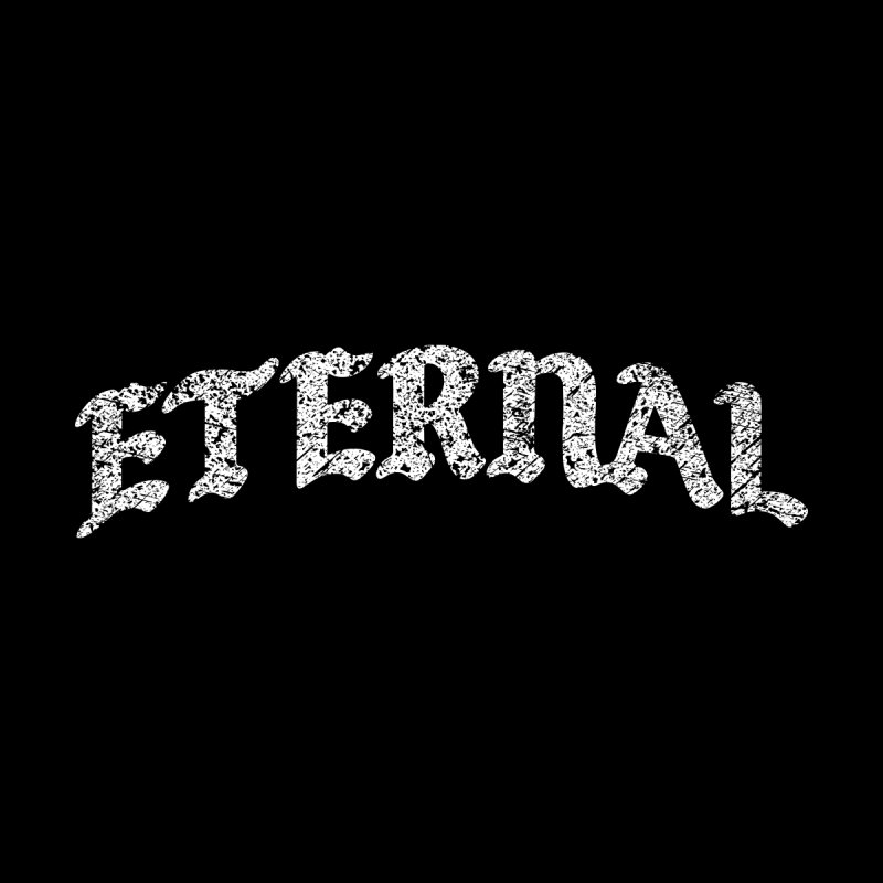 Eternal T-Shirt / White Logo Men's T-Shirt by JADED ETERNAL