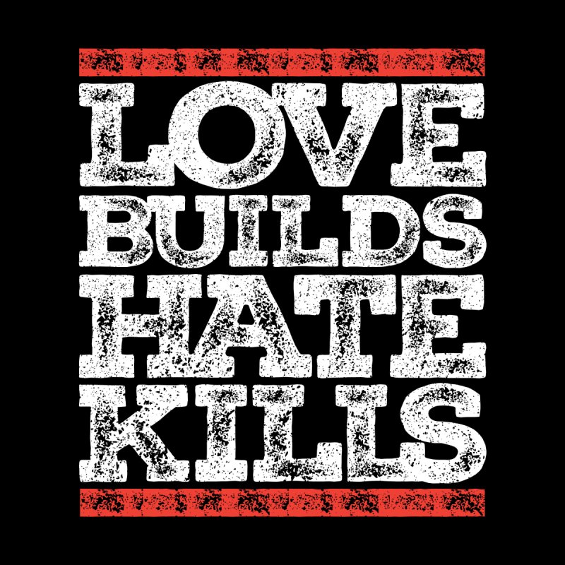 Love Builds Women's T-Shirt by JADED ETERNAL