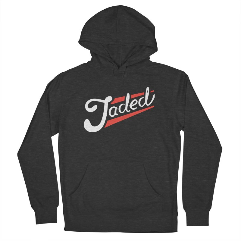 Jaded Script Logo Men's French Terry Pullover Hoody by JADED ETERNAL