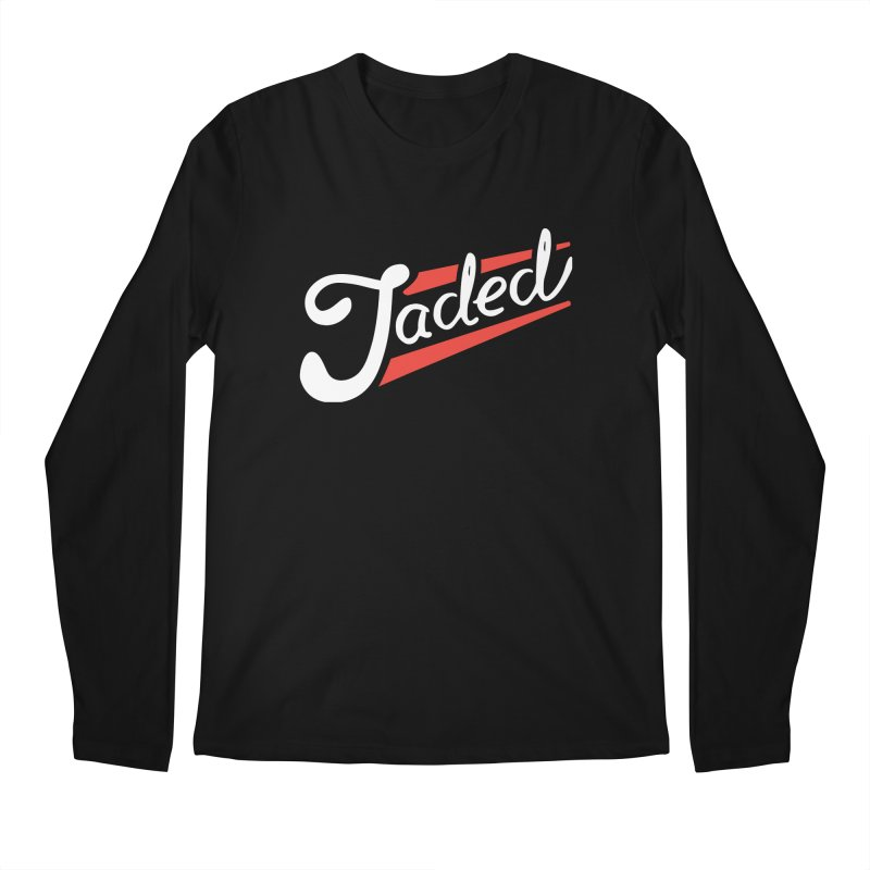 Jaded Script Logo Men's Regular Longsleeve T-Shirt by JADED ETERNAL