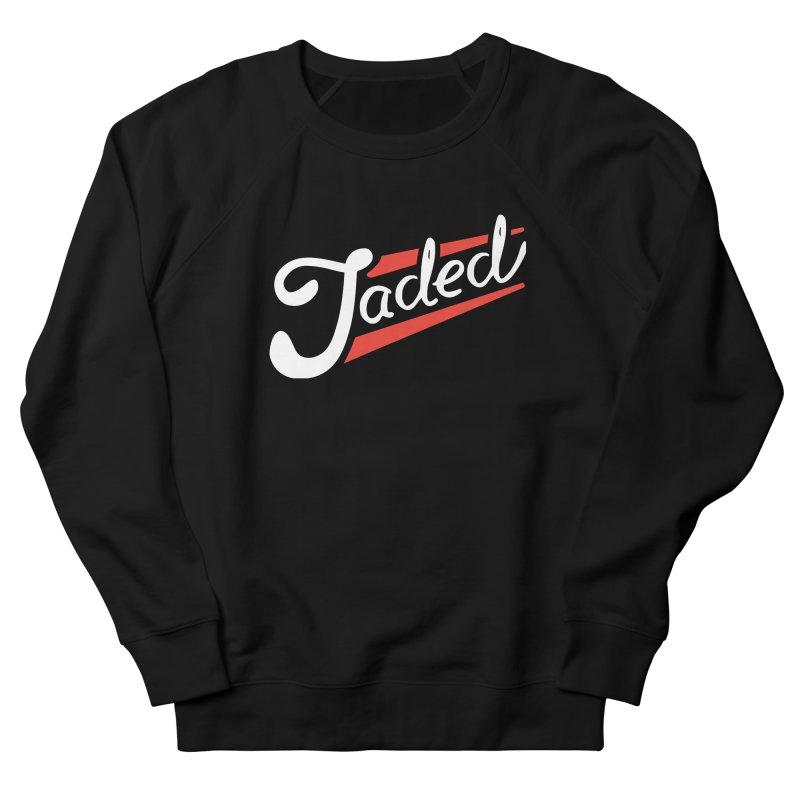 Jaded Script Logo Men's French Terry Sweatshirt by JADED ETERNAL