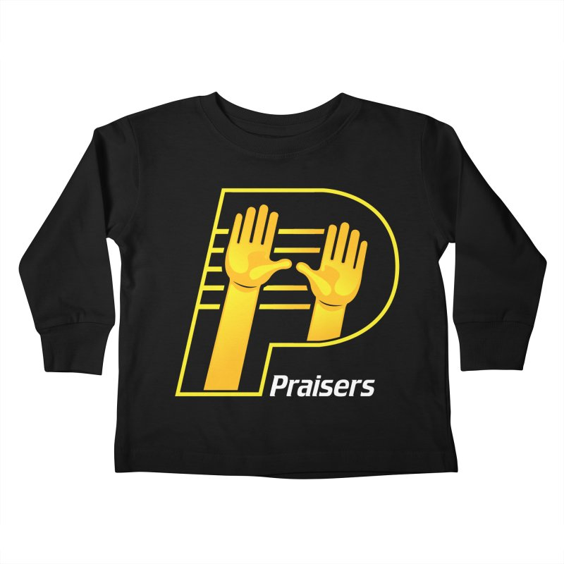 Praisers Kids Toddler Longsleeve T-Shirt by JADED ETERNAL