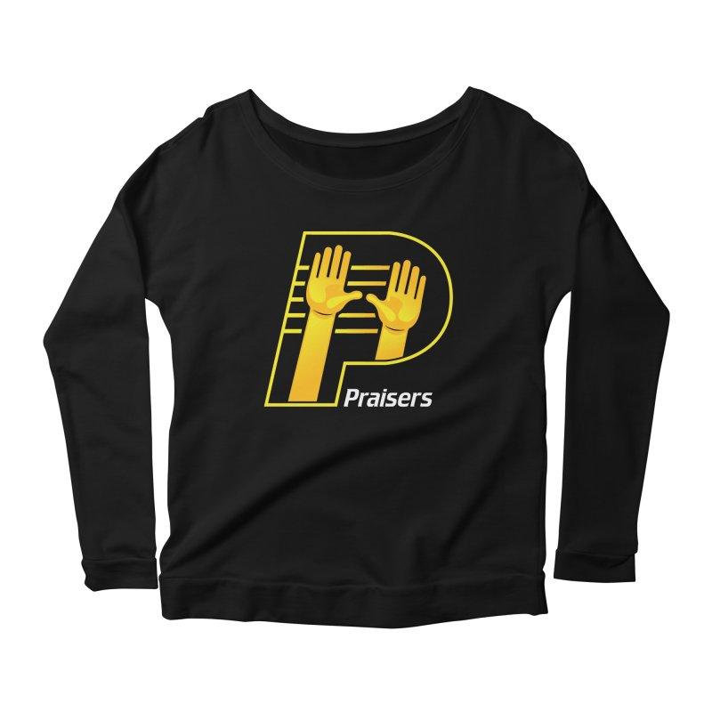 Praisers Women's Scoop Neck Longsleeve T-Shirt by JADED ETERNAL