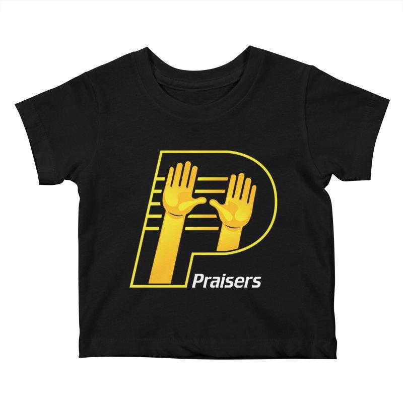 Praisers Kids Baby T-Shirt by JADED ETERNAL