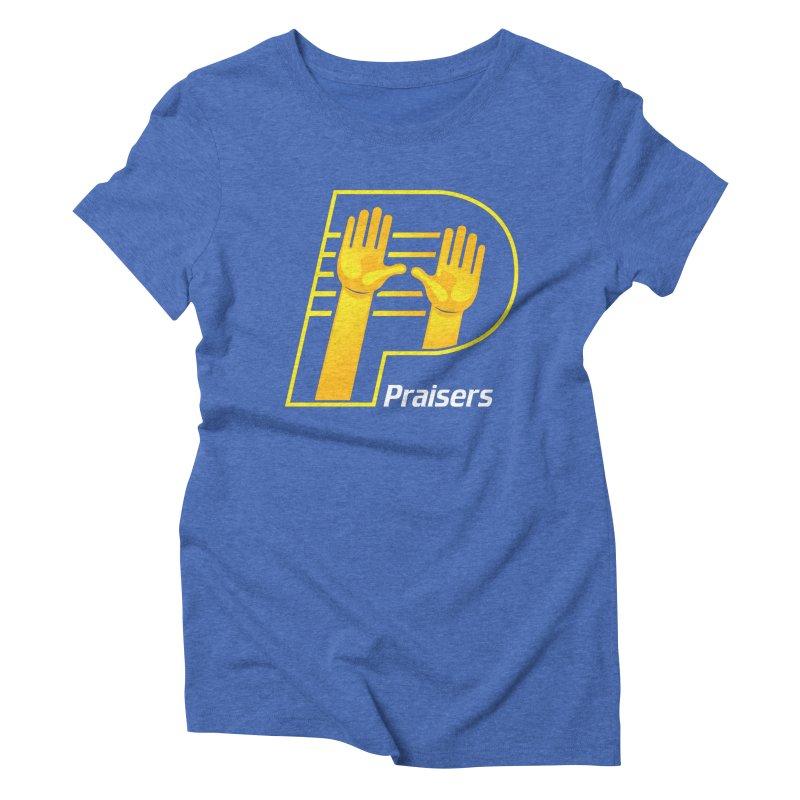 Praisers Women's Triblend T-Shirt by JADED ETERNAL
