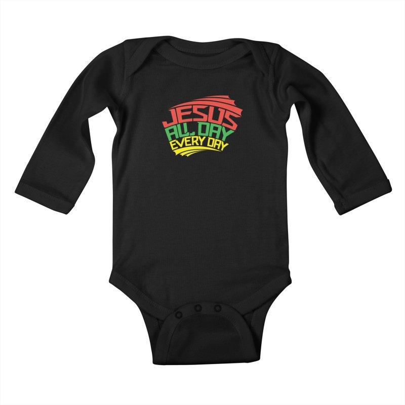 J.A.D.E.D. Kids Baby Longsleeve Bodysuit by JADED ETERNAL