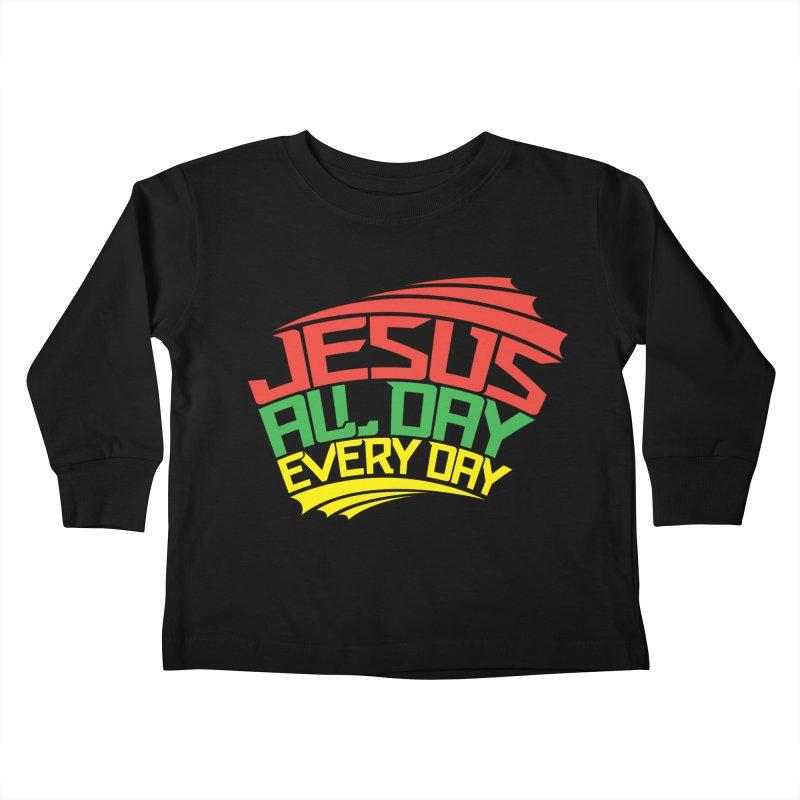 J.A.D.E.D. Kids Toddler Longsleeve T-Shirt by JADED ETERNAL