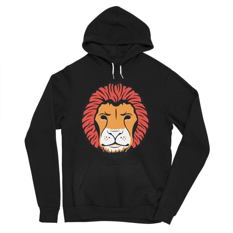 Lion of Lions Men's Sponge Fleece Pullover Hoody by JADED ETERNAL