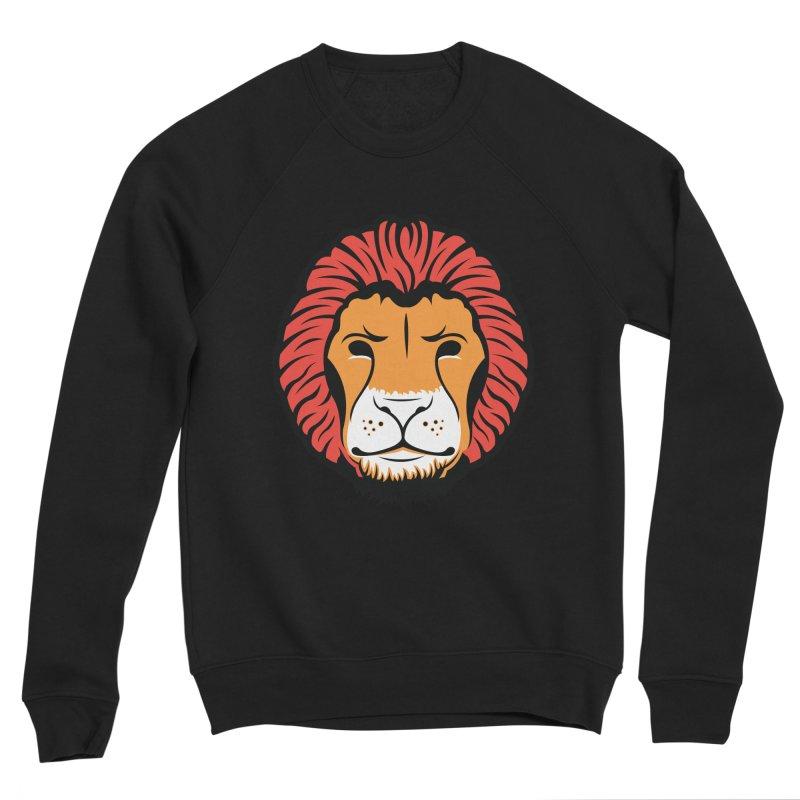 Lion of Lions Women's Sponge Fleece Sweatshirt by JADED ETERNAL