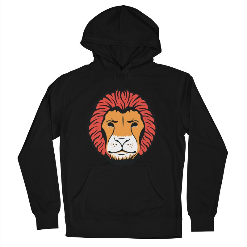 Lion of Lions Men's French Terry Pullover Hoody by JADED ETERNAL