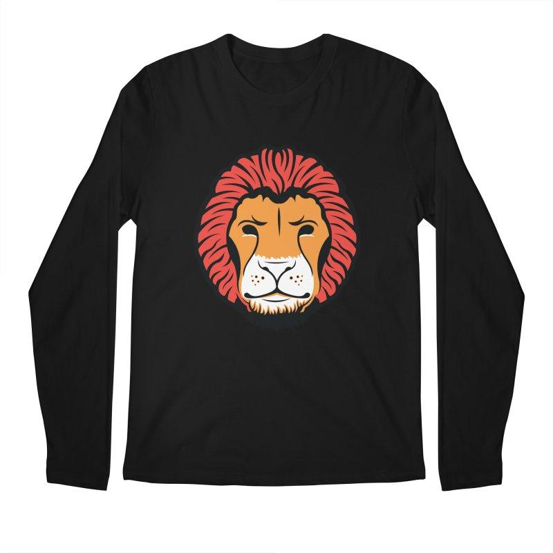 Lion of Lions Men's Regular Longsleeve T-Shirt by JADED ETERNAL