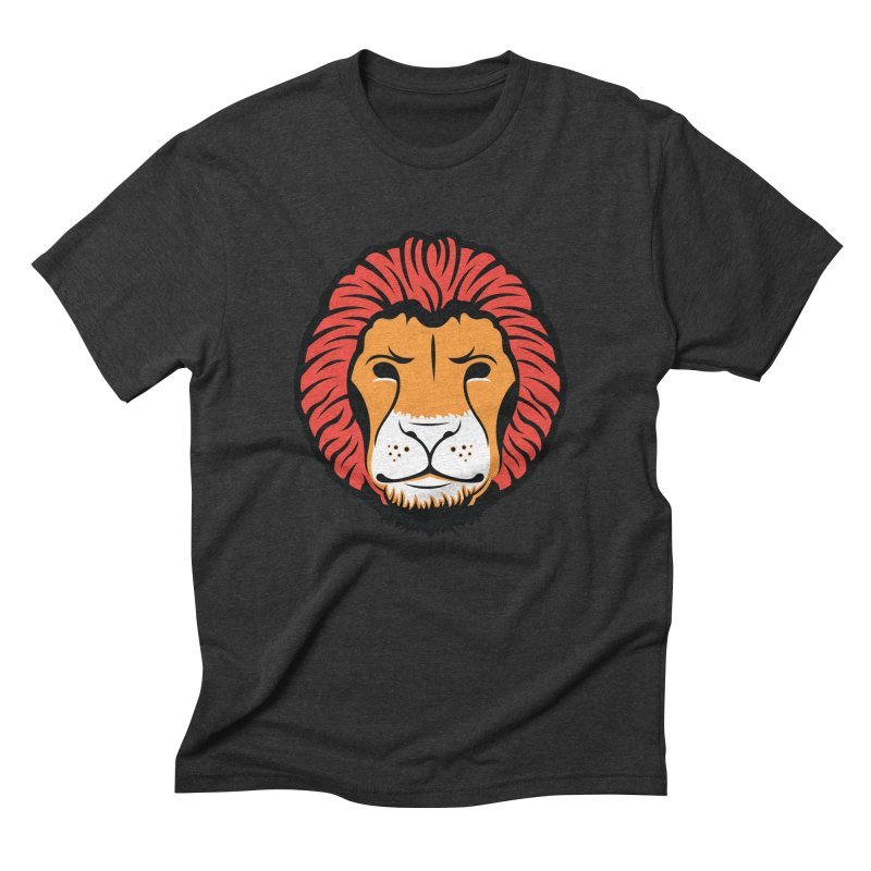 Lion of Lions Men's Triblend T-Shirt by JADED ETERNAL