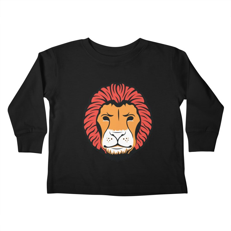 Lion of Lions Kids Toddler Longsleeve T-Shirt by JADED ETERNAL