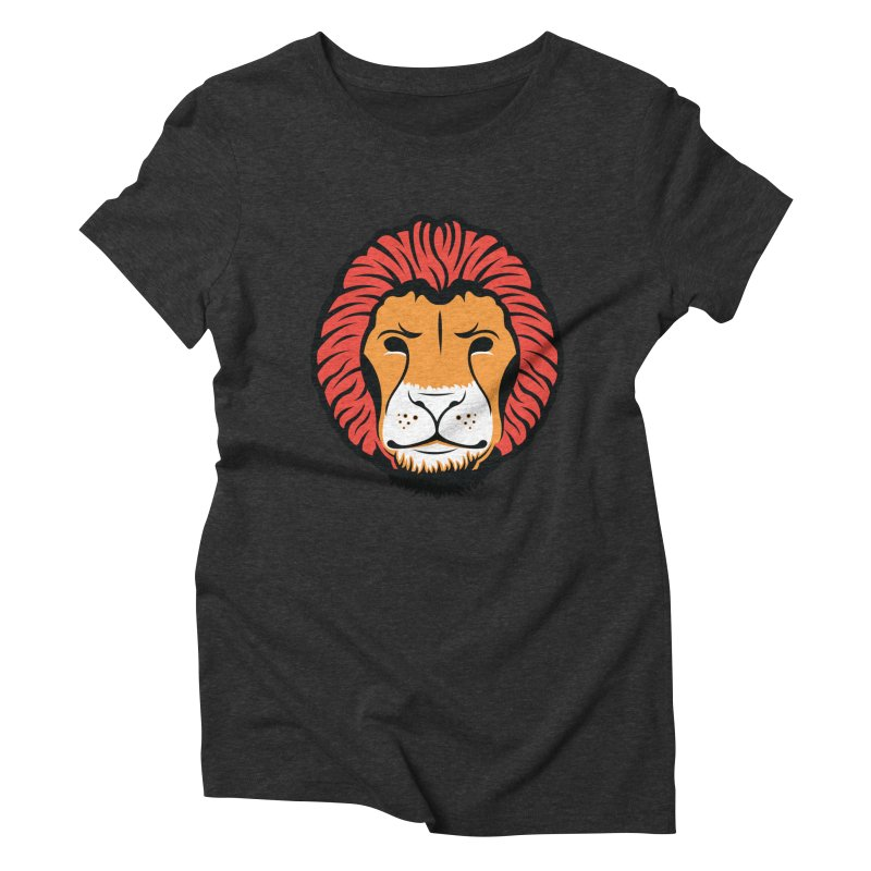 Lion of Lions Women's Triblend T-Shirt by JADED ETERNAL