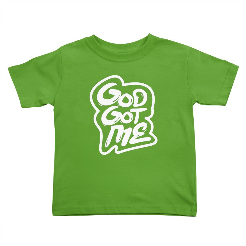 God Got Me Kids Toddler T-Shirt by JADED ETERNAL