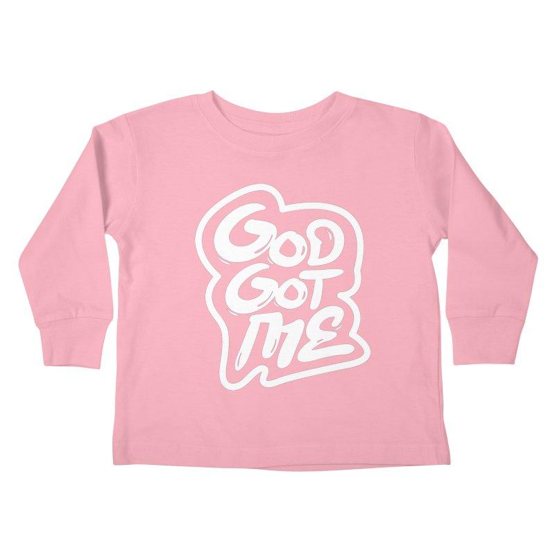 God Got Me Kids Toddler Longsleeve T-Shirt by JADED ETERNAL
