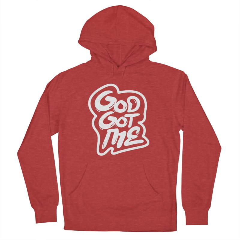 God Got Me Men's French Terry Pullover Hoody by JADED ETERNAL