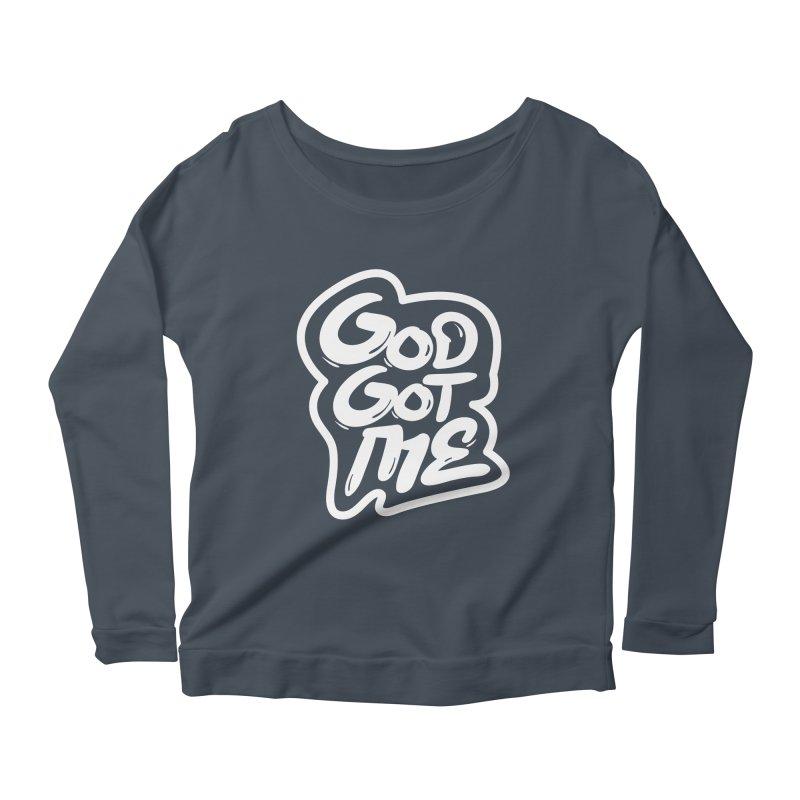 God Got Me Women's Scoop Neck Longsleeve T-Shirt by JADED ETERNAL