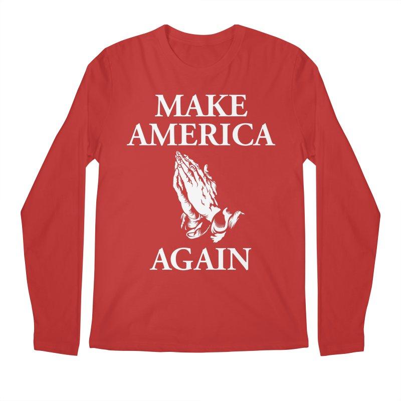 Make America Pray Again Men's Regular Longsleeve T-Shirt by JADED ETERNAL